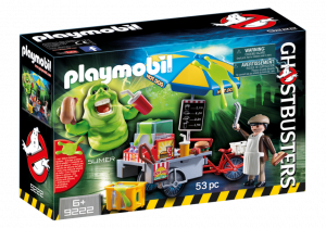 Slimer carretto degli hot dog Playmobil