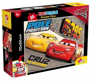 Puzzle Df Supermaxi 35 Cars Lisciani