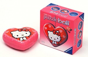 Puzzle Ball Hello Kitty Cuore 3D 60