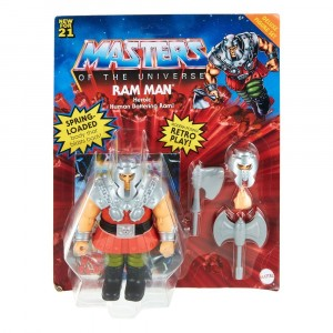 Masters of the Universe Deluxe Action Figure 2021 Ram Man