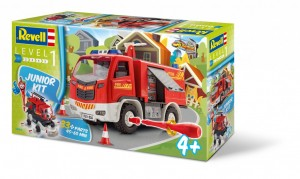 Revell Junior kit camion pompieri