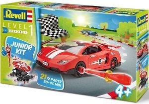 Revell Junior kit red car