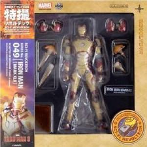Iron Man Action Figure Sci-Fi Revoltech #049 Iron Man Mark XLII by Kaiyodo