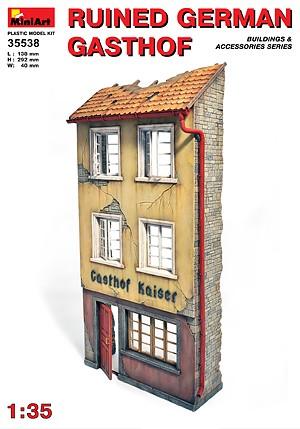 """Ruined German """"Gasthof"""""""