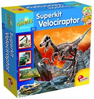 Superkit Velociraptor Lisciani