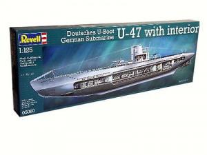 Germany Submarine U-47 w/Interior