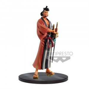 One Piece DXF Grandline Men PVC Statue Wanokuni Vol. 4 Kin Emon