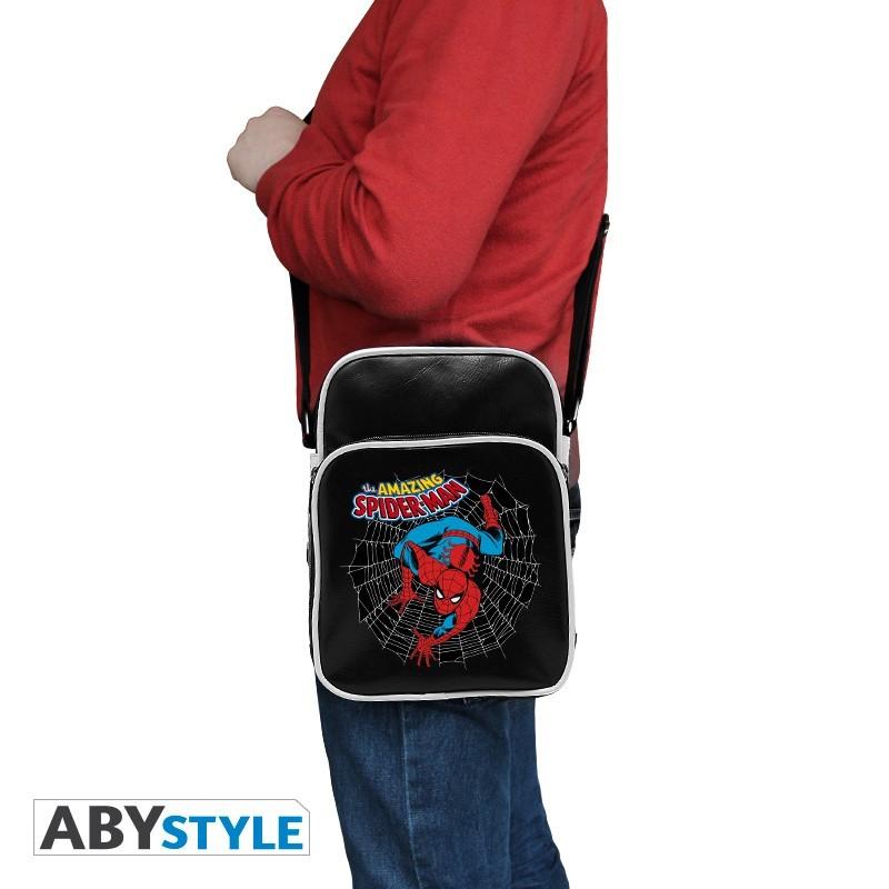 3e8ba1ee Japan Style - Marvel Messenger Bag Spider Man Vintage - Articoli da ...